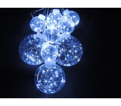Světelný Led řetěz - Koule teplá bílá Massive 32261 + DOPRAVA ZDARMA