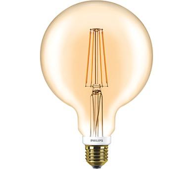 FILAMENT Classic LEDglobe 7-50W E27 820 G120 DIM Philips 8718696575772