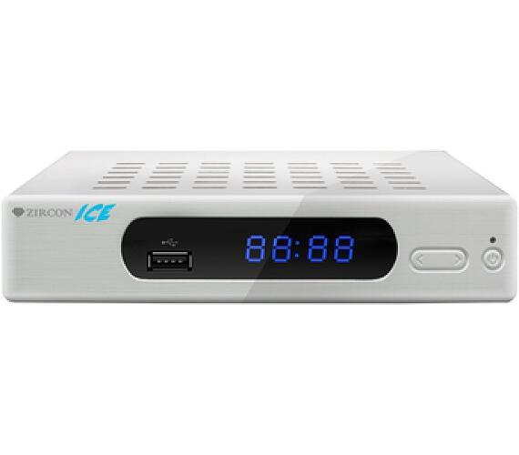 ZIRCON ICE DVB-T2 HD přijímač + DOPRAVA ZDARMA