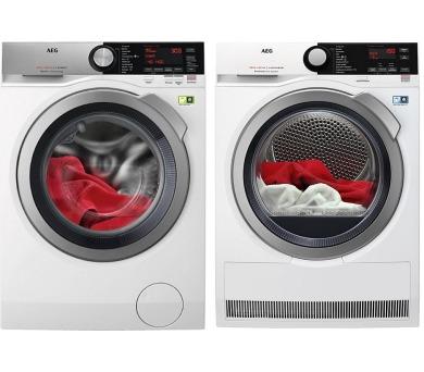 AEG ÖKOMix® L8FEC49SC + Sušička prádla AEG AbsoluteCare® T8DBE68SC + prodloužená ZÁRUKA na spotřebiče dle podmínek AEG + DOPRAVA ZDARMA