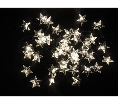 Světelný LED řetěz - hvězdy Massive 31837
