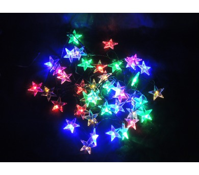 Světelný LED řetěz - hvězdy Massive 31851 + DOPRAVA ZDARMA