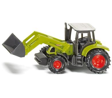 SIKU Blister - Traktor Claas Ares s čelním nakladačem