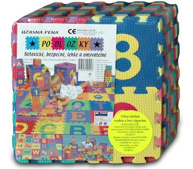 Pěnové puzzle 15x15