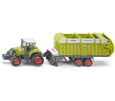 SIKU Farmer - Traktor s valníkovým přívěsem