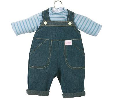 Obleček - džíny s tričkem pro panenky