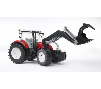 Bruder 3091 Traktor STEYR CVT 6230 + čelní nakladač + DOPRAVA ZDARMA