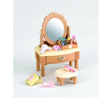 Nábytek - zrcadlový stolek se židličkou Sylvanian family