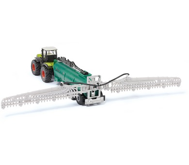 SIKU Farmer - Traktor Claas Xerion s cisternou