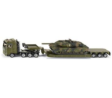 SIKU Super - Těžký transportér přepravující tank