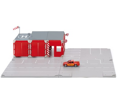 SIKU World - Set požární stanice 16 dílů + DOPRAVA ZDARMA