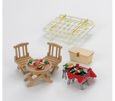 Střešní nosič s piknik setem