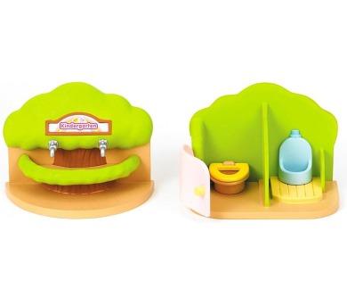 Přenosná toaleta a umývárka pro školky Sylvanian family
