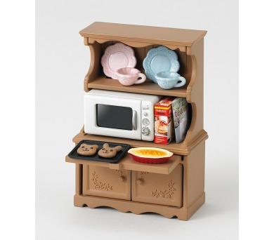 Vybavení - skříň s mikrovlnnou troubou Sylvanian family