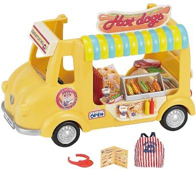 Pojízdný obchod s Hot dogy Sylvanian family