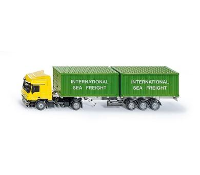 SIKU Super - LKW kamion se 2 kontejnery + DOPRAVA ZDARMA