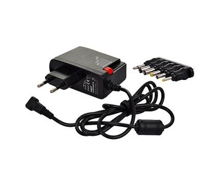 Solight univerzální síťový adaptér 1000mA