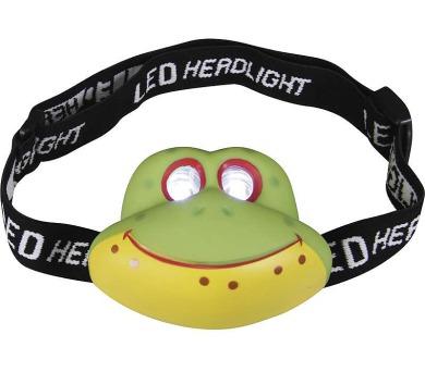 LED čelovka - žába