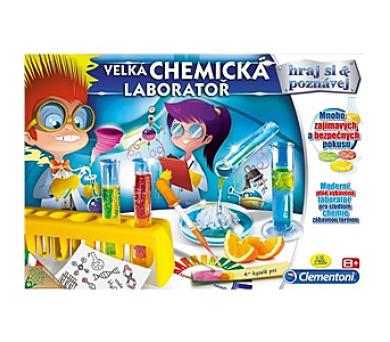 Albi Clementoni Velká chemická laboratoř + DOPRAVA ZDARMA