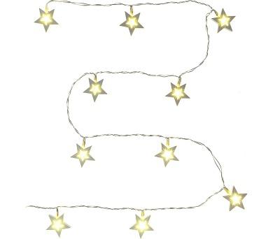 RXL 139 bílé hvězdy 10LED WW Retlux