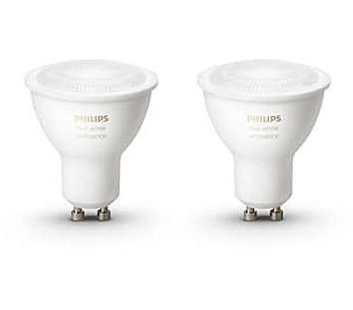 Philips HueAmbiance 5.5W GU10 EUR 2Pack 8718696671184 + DOPRAVA ZDARMA
