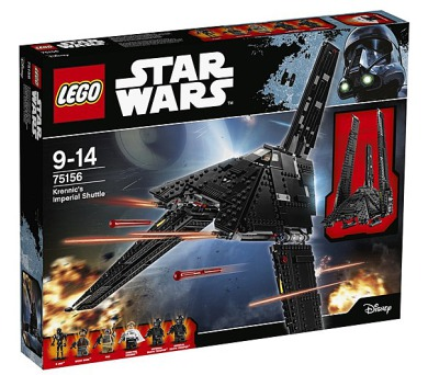 Stavebnice Lego® Star Wars TM Confidential 75156 Play themes_5