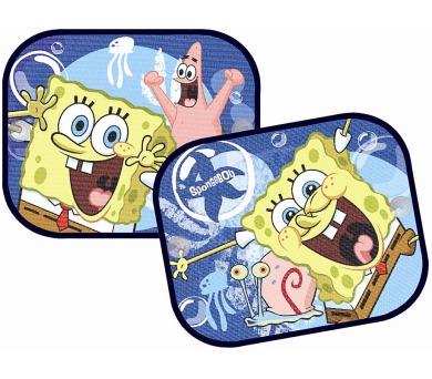 """Stínítka do auta """"SpongeBob"""" (pár) LICENCE"""