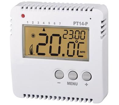 Prostorový digitální termostat programovatelný PT14-P + DOPRAVA ZDARMA