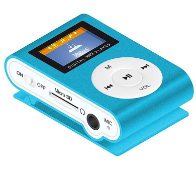 MANTA MM269SX.NB - MP3 přehrávač modrý.