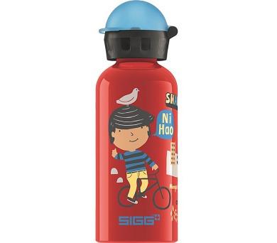 Láhev na pití Sigg dětská Travel Boy Shanghai + DOPRAVA ZDARMA