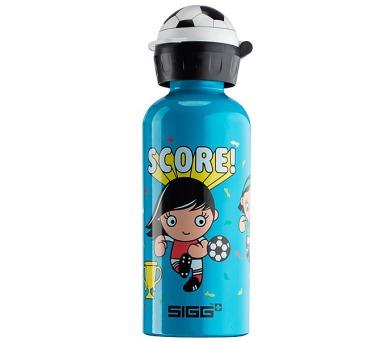 Láhev na pití Sigg dětská SWC Girls 0.4L - modrá + DOPRAVA ZDARMA