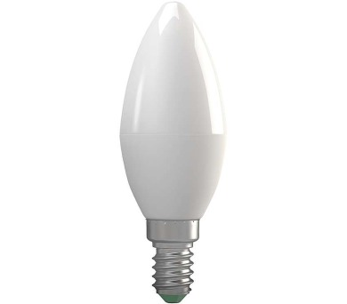 LED žárovka Candle 7W E14 teplá bílá