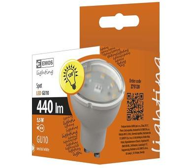 LED žárovka Classic MR16 5,5W GU10 neutrální b. BLACK FRIDAY