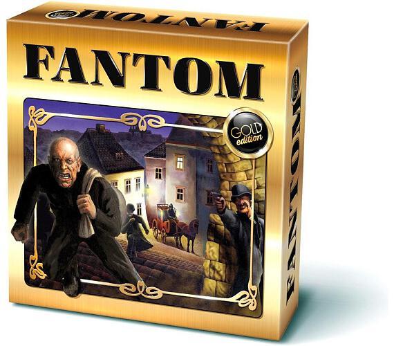 Fantom společenská hra Gold edition v krabici 25x25x6,5cm + DOPRAVA ZDARMA