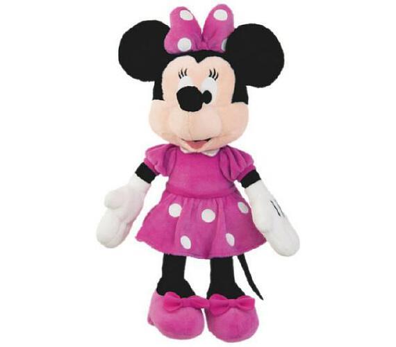 Minnie růžové šaty plyš 23cm 0m+ + DOPRAVA ZDARMA