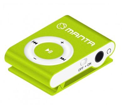 MANTA MM269C.ZL - MP3 přehrávač zelený.