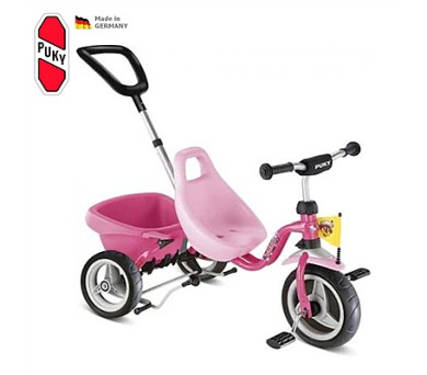 PUKY Carry Touring Tipper CAT 1 S pink