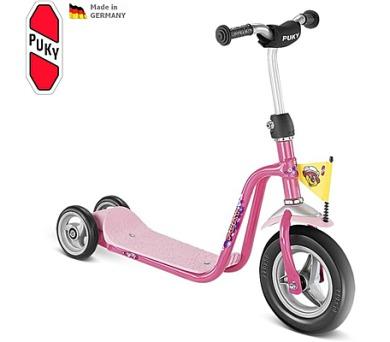PUKY Scooter R 1 růžová + DOPRAVA ZDARMA