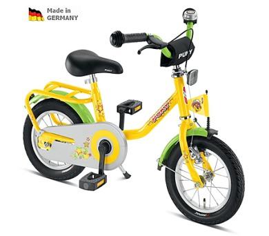 """PUKY Z2 Dětské kolo žlutá 12"""" 2013"""