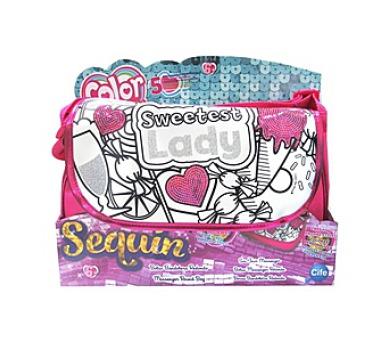 Kabelka Color Me Mine Sequin Round Messenger Bag