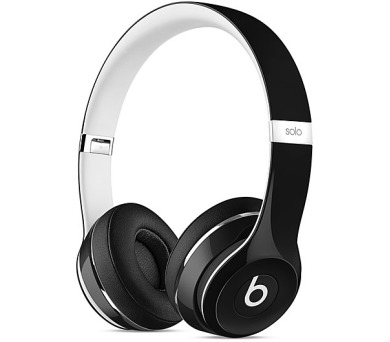 Beats Solo2 On-Ear Luxe Edition - černá