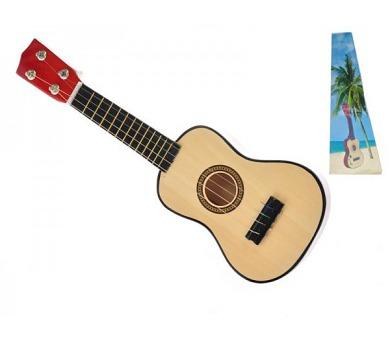 Ukulele/kytara dřevo/kov 44cm v krabičce