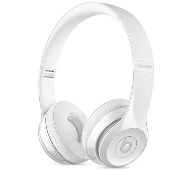 Beats Solo3 Wireless On-Ear - bílá