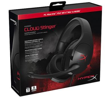 HyperX Cloud Stinger - černý/červený