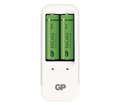 GP PB410 pro AA. AAA + 2x AA ReCyko+ (1300mAh)