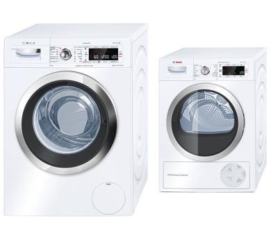 Bosch WAW32640EU + Sušička Bosch WTW85560BY + 100 dní možnost vrácení*