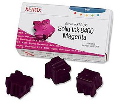 Xerox Genuine Solid Ink Magenta pro Phaser 8400 (3 + DOPRAVA ZDARMA