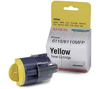 Xerox Toner Yellow pro Phaser 6110/MFP 6110 (1.000 str)