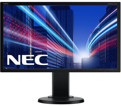NEC E231W - Full HD,TN,250cd,DVI,DP,black + DOPRAVA ZDARMA