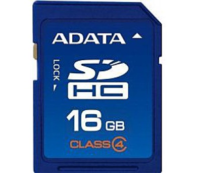 ADATA 16GB SDHC Card Class 4
